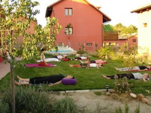 Relajación en la hierba