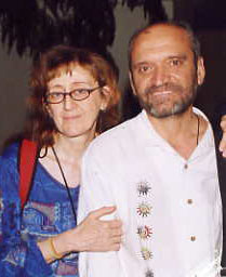 Víctor y María José cofundadores de la Ecoaldea